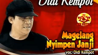 Lirik Lagu Magelang Nyimpen Janji - Didi Kempot