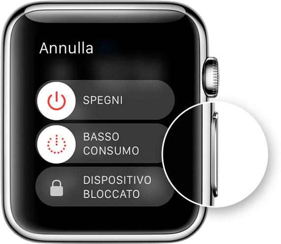 Не забывайте, что выход из режима power reserve возможен только в том случае, если батарея watch снова заряжена.