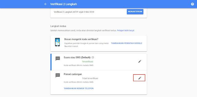 Cara Aktifkan dan Nonaktifkan Kemanan Tambahan Google