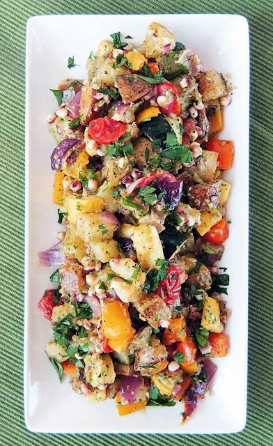 Farmer's Market Potato Salad from www.bobbiskozykitchen.com