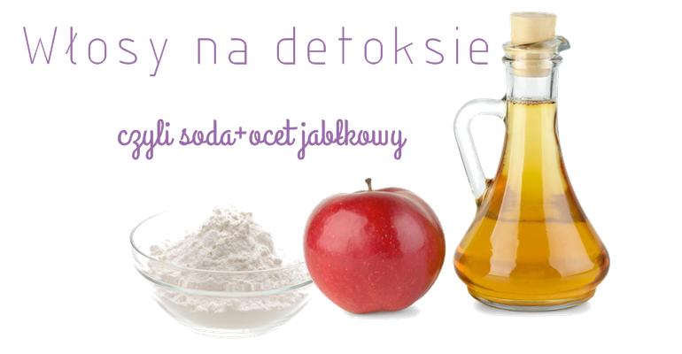 soda i ocet jabłkowy