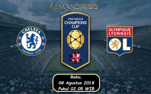 Prediksi Chelsea Vs Olympique Lyon, Rabu 08 Agustus 2018 Pukul 02.05 WIB @ TVRI