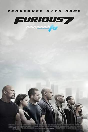 Rapido y Furioso 7 (2015) DVDRip Latino
