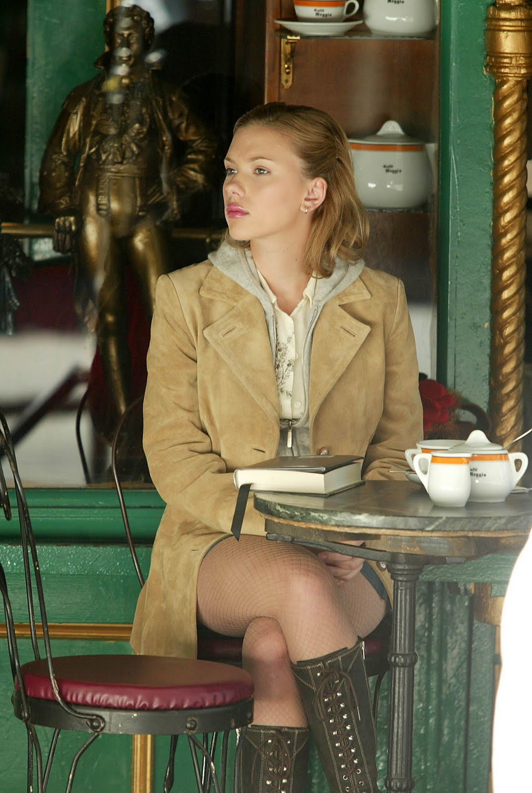 Sure Denim Magazine Scarlett Johansson