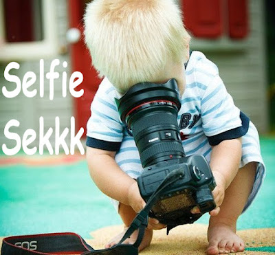 foto selfy balita lucu