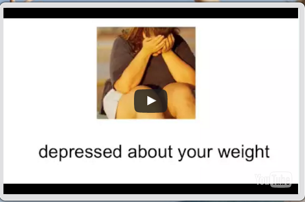 depressed about your weight