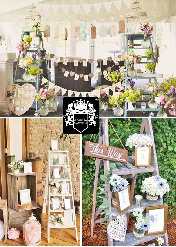 Decoracin vintage para bodas decoracion vintage copas - Decoracion vintage sevilla ...