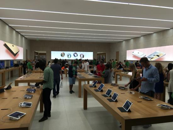 Comprar tablet na Apple Store em Miami