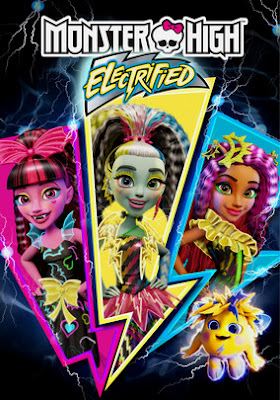 Monster High: Electrified 2017 DVD Custom HDRip NTSC Latino
