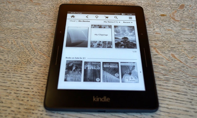 Kindle Voyage ebook reader Review: Reasons EReaders are better than paper books