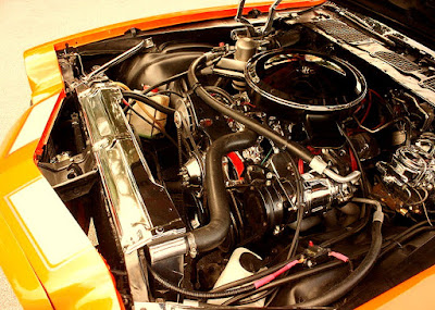 1973 Chevrolet Camaro Z28 2-Door Coupe Engine 01