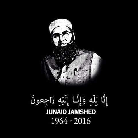 Junaid Jamshed and his wife died today in a plane crash along with 46 other people including the crew in Hawailian