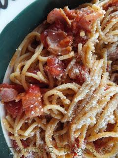 Turnips 2 Tangerines: Bacon & Tomato Spaghetti