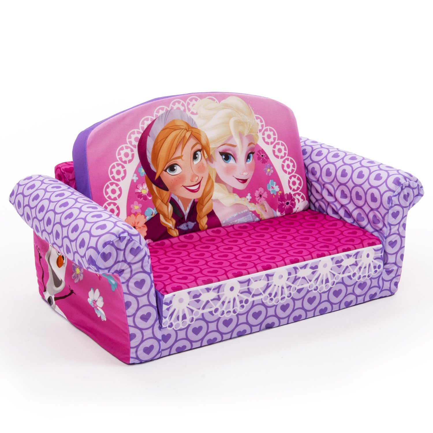 disney princess flip out sofa ligne roset togo used kids 39 fold sleeper sofas