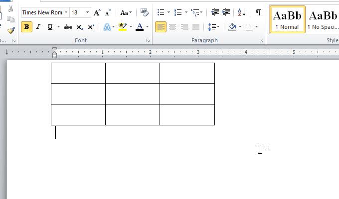 chèn xóa cột và hàng của bảng trong word
