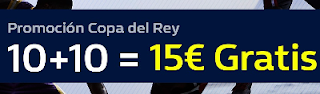 william hill promocion copa rey baloncesto 15-16 febrero
