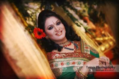 Bangladeshi Actress Mita Noor In Beautiful Saree