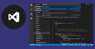 برنامج Visual Studio Code هو بيئة عمل برمجية متكاملة للكثير جداً من لغات البرمجة، تم تصميمة فى شركة مايكروسوفت الشهيرة