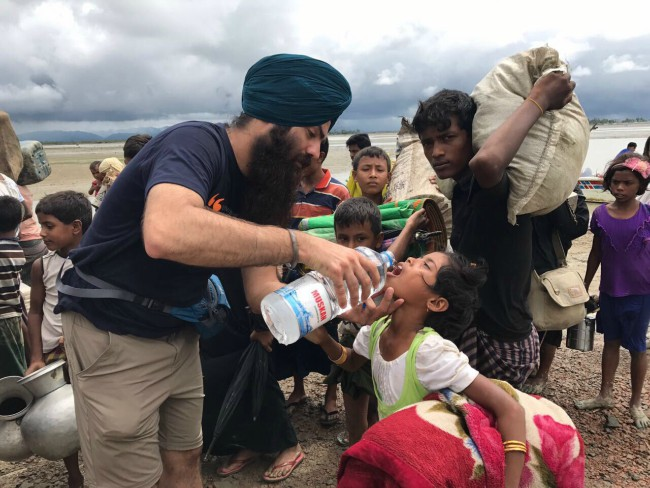 "Faith in Humanity - The organization Khalsa Aid follows the Sikh principle of ""Recognise the whole human race as one"". They are always at the forefront when it comes to humanitarian aid around the world, looking beyond religious beliefs and serving the downtrodden."