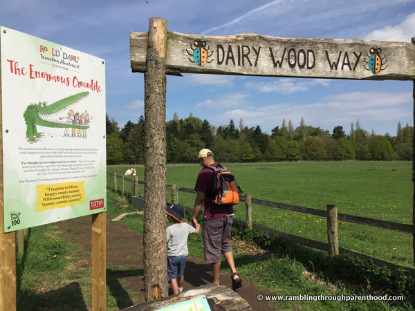 The Enormous Crocodile trail at Dairy Wood Way, Tatton Park