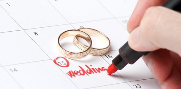 Menentukan tanggal Pernikahan yang baik