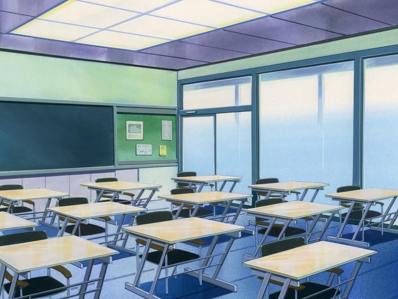 Anime Classroom Wallpaper