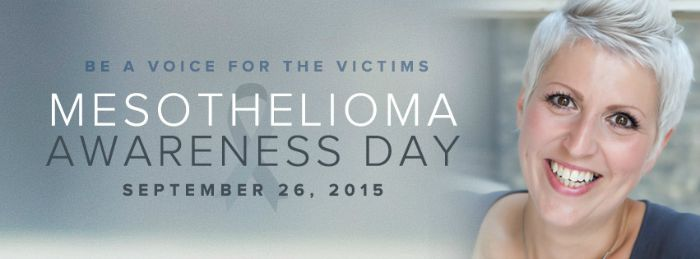 Mesothelioma Awareness Day 09/26/15