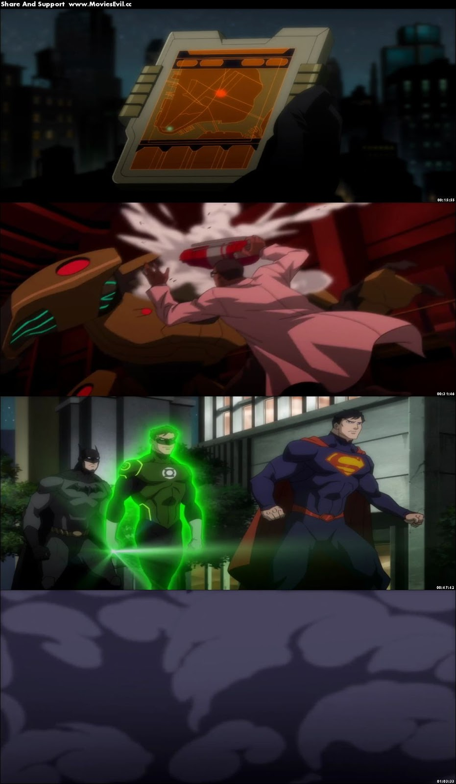 Justice League War 2014 English 1080p BluRay Free Download