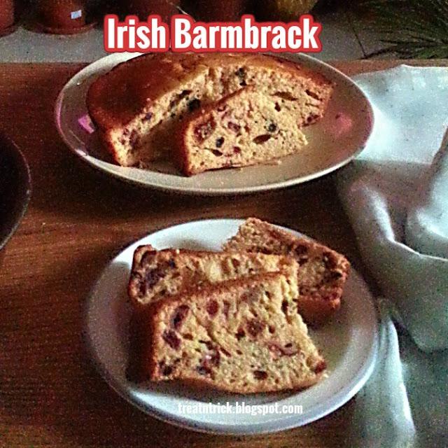 Irish Barmbrack Recipe @ treatntrick.blogspot.com