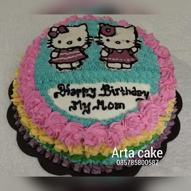 Kue Ultah Karakter Hello Kitty Kue Ulang Tahun Bantul Dan