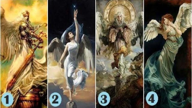Выбери одного ангела, чтобы получить духовное сообщение!
