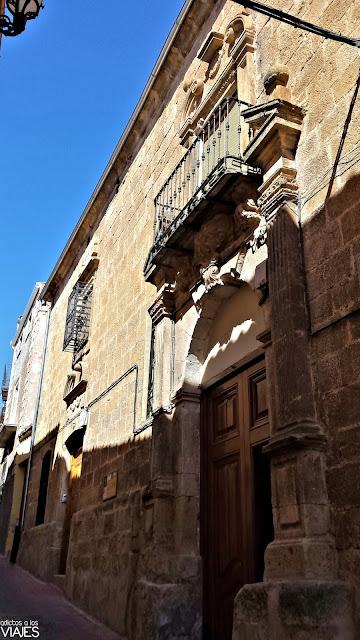 Fachada del Palacio de la Encomienda, Chiclana de Segura