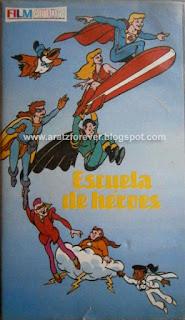 Hero High, Filmation, uper héroes, Escuela de héroes, El capitán California