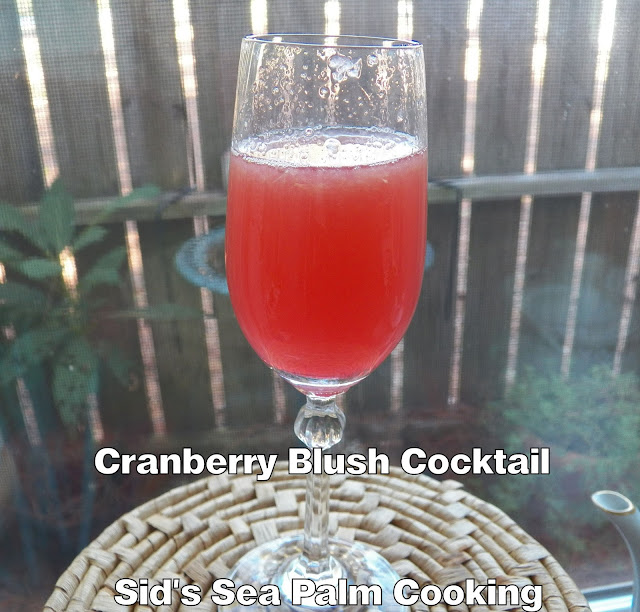 Cranberry Blush Cocktail