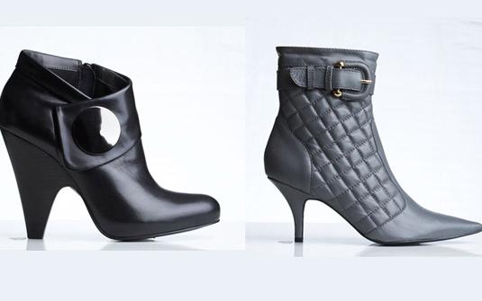 c2ec258bf As botas de cano médio estão cada vez mais em alta e estão disponíveis em  modelos diferenciados: bico fino ou arredondado, meia pata, salto fino ou  mais ...
