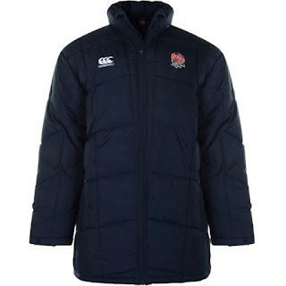 Canterbury Men's England Puffa Jacket Navy