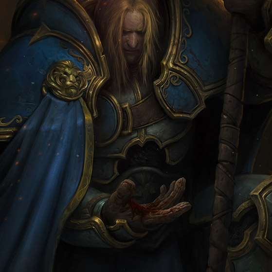 World of Warcraft: Arthas and the Culling of Stratholme Wallpaper Engine