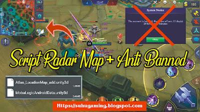 Script Radar Map + Anti Banned Patch Esmeralda/ KOF Terbaru MObile Legends: Bang bang