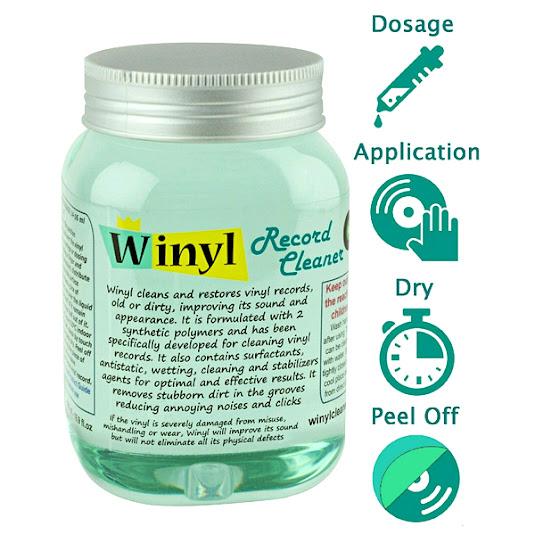 Winyl Gel de Limpeza de Discos de Vinil