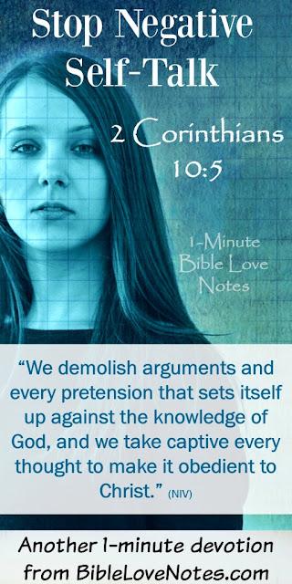 2 Corinthians 10:5, we think 1300 words a minute