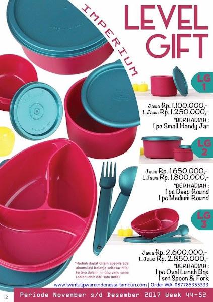 Level Gift Tulipware November 2017