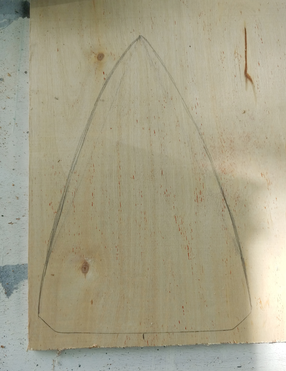plywood shape