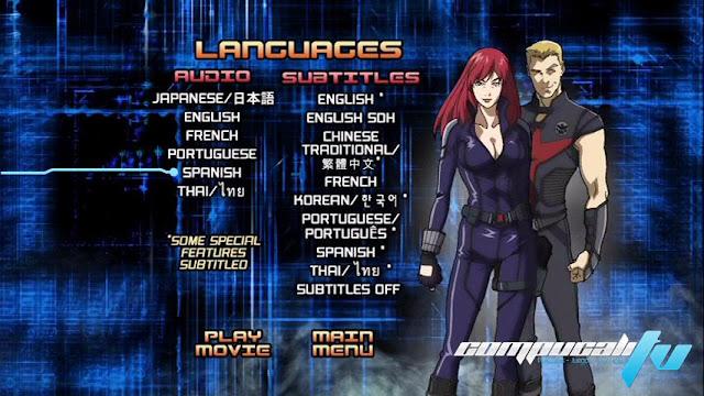 Iron Man La rebelión del technivoro DVDR NTSC Español Latino