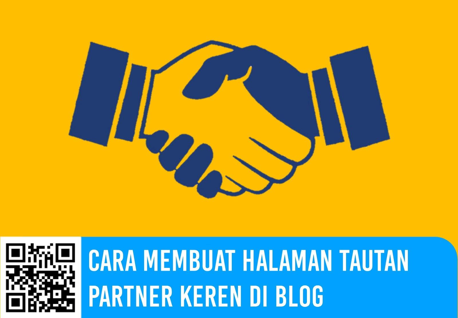 Cara Membuat Halaman Tautan Partner Keren di Blog