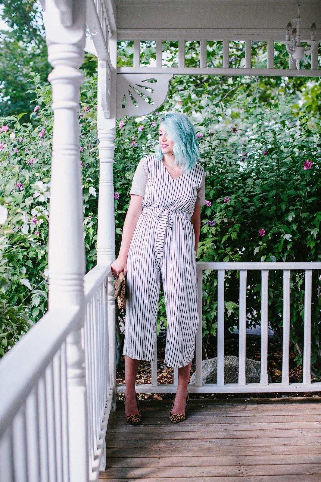 Romper, Leopard Print, Utah Fashion Blogger