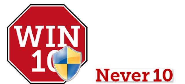 تعطيل تحديثات الويندوز 10 بشكل نهائي مع أداة Never10 لجميع الأنظمة