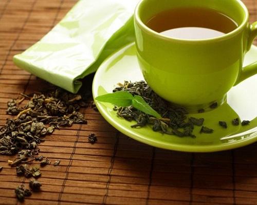 chá verde para celulite