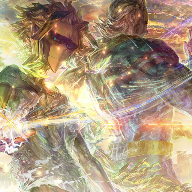 All Might with You Say Run Wallpaper Engine