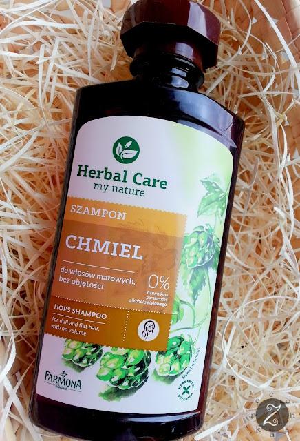 Szampon z chmielem z serii Herbal Care od Farmony