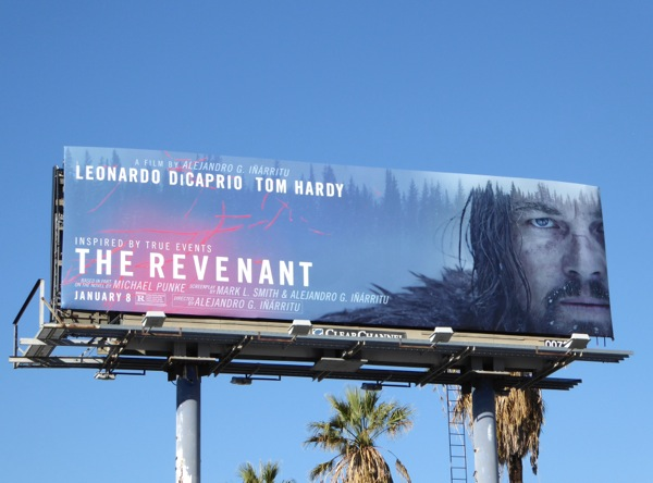 The Revenant movie billboard